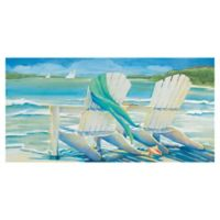 Masterpiece Art Gallery Kathleen Denis By the Sea 17-Inch x 34-Inch Wrapped Canvas Wall Art