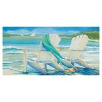Masterpiece Art Gallery Kathleen Denis By the Sea 24-Inch x 48-Inch Wrapped Canvas Wall Art