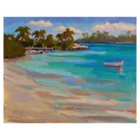 Masterpiece Art Gallery Kathleen Denis Walk on the Beach 22-Inch x 28-Inch Wrapped Canvas Wall Art