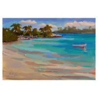 Masterpiece Art Gallery Kathleen Denis Walk on the Beach 24-Inch x 36-Inch Wrapped Canvas Wall Art