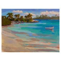 Masterpiece Art Gallery Kathleen Denis Walk on the Beach 30-Inch x 40-Inch Wrapped Canvas Wall Art