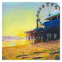 Masterpiece Art Gallery California Dreaming 24-Inch Square Wrapped Canvas Wall Art