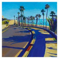 Masterpiece Art Gallery California Dreaming III 35-Inch Square Wrapped Canvas Wall Art