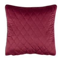 Rose Tree Izabelle European Pillow Sham in Wine