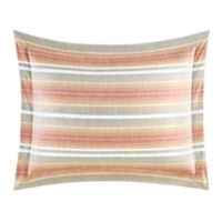 Tommy Bahama® Sunrise Stripe Standard Pillow Sham in Coral