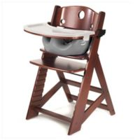Keekaroo® Height Right High Chair with Infant Insert in Mahogany/Grey