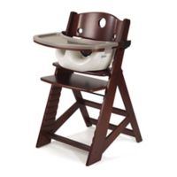 Keekaroo® Height Right High Chair with Infant Insert in Mahogany/Vanilla