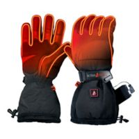 ActionHeat™ Men's Medium 5V Battery Heated Snow Gloves in Black