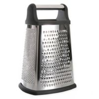 BergHOFF® Essentials 10-Inch 4-Sided Grater with Handle