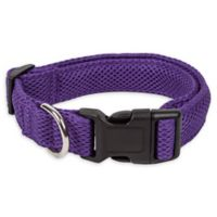 Medium Aero Mesh Adjustable Dog Collar in Purple