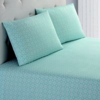 Peach & Oak Missy Full Sheet Set in Teal