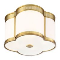 Minka Lavery® 1-Light LED Flush Mount Fixture in Gold