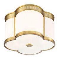Minka Lavery® 1-Light LED Flush Mount Fixture in Gold
