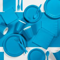 Creative Converting 245-Piece Party Supplies Kit in Turquoise