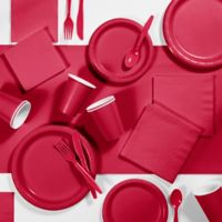 Creative Converting 245-Piece Party Supplies Kit in Red