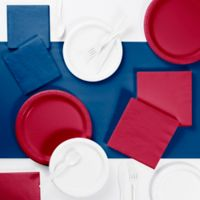 Classic Color 221-Piece Party Supplies Kit in Red/White/Blue