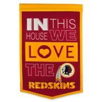NFL Washington Redskins Home Banner