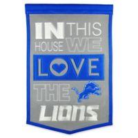 NFL Detroit Lions Home Banner