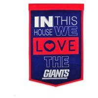 NFL New York Giants Home Banner