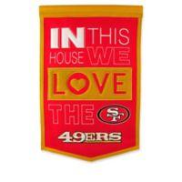 NFL San Francisco 49ers Home Banner