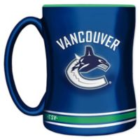 NHL Vancouver Canucks 14 oz. Sculpted Relief Mug