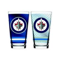 NHL Winnipeg Jets 2-Piece Mixing Glass Set