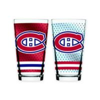 NHL Montreal Canadiens 2-Piece Mixing Glass Set
