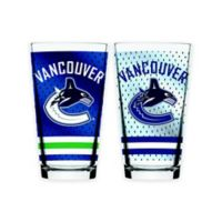 NHL Vancouver Canucks 2-Piece Mixing Glass Set