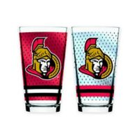 NHL Ottawa Senators 2-Piece Mixing Glass Set