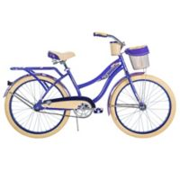 Huffy® Deluxe 24-Inch Perfect Fit Women's Cruiser Bike in Purple