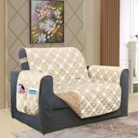Bloomingdale Chair Protector in Cream/Taupe