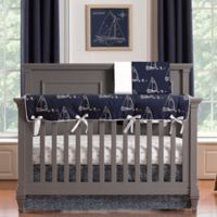 Liz and Roo Nautical 3-Piece Crib Bedding Set in Blue