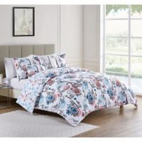 VCNY Home 5-Piece King Eiffel Duvet Set in Pink/Blue