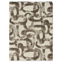 Studio NYC Design® Distressed Abstract 5' x 7' Area Rug by Nourison in Glacier