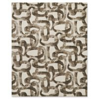 Studio NYC Design® Distressed Abstract 8' x 10' Area Rug by Nourison in Glacier