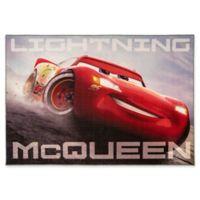 "Disney Cars 3 Cars Mcqueen 4'6"" X 6'6"" Woven Area Rug"