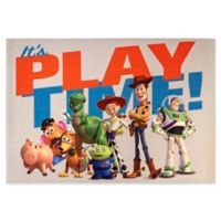 "Disney Toy Story Toy Story 4 Playtime 4'6"" X 6'6"" Woven Area Rug"