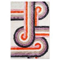 Novogratz Collection Turnstyle 3'6 x 5'6 Hand-Tufted Area Rug in Lavender