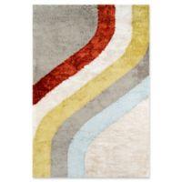 Novogratz Collection Classic 3'6 x 5'6 Hand-Tufted Multicolored Area Rug