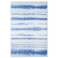 Novogratz Collection Sand & Surf 7'6 x 9'6 Power-Loomed Area Rug in Blue