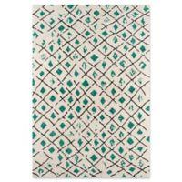 Novogratz Tallulah 5' x 7'6 Hand-Woven Area Rug in Green