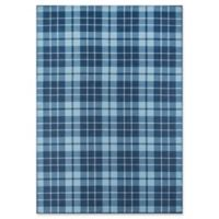 Novogratz Collection Blair 7'6 x 9'6 Power-Loomed Area Rug in Blue