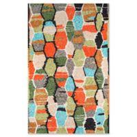 Novogratz Tiles 7'6 x 9'6 Hand-Tufted Multicolored Area Rug