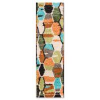 Novogratz Tiles 2'3 x 8' Hand-Tufted Multicolored Runner