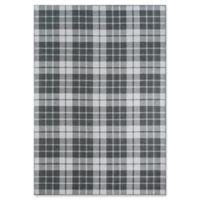 "Novogratz Windsor 3'3"" X 5' Powerloomed Accent Rug in Charcoal"