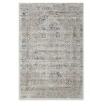 Kathy Ireland® Home Malta 5'3 x 7'7 Area Rug in Ivory/Blue