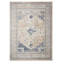 Kathy Ireland® Home Malta 9' x 12' Area Rug in Beige/Blue