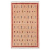 "ECARPETGALLERY Peshawar 3'2"" X 5' Hand-Knotted Area Rug in Beige"