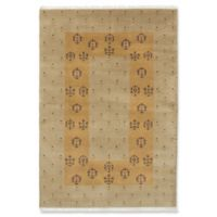 ECARPETGALLERY Peshawar 4' X 6' Hand-Knotted Area Rug in Khaki