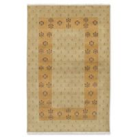 ECARPETGALLERY Peshawar 5' X 8' Hand-Knotted Area Rug in Khaki
